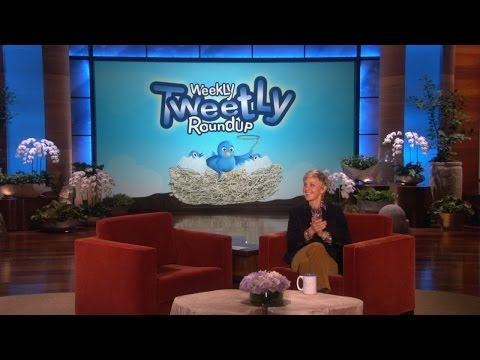 Weekly - Ellen shared some of her favorite tweets from her favorite tweeters, including one from someone who doesn't get invited out much.