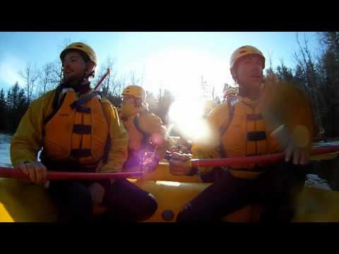 Northwoods Adventures - Spring Rafting on the Sturgeon River