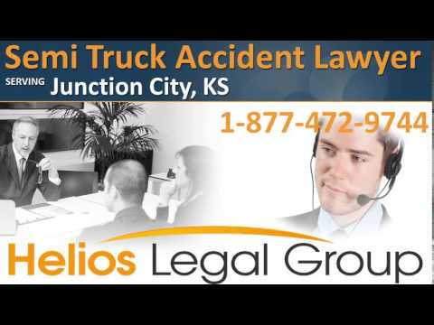 Junction City Semi Truck Accident Lawyer & Attorney – Kansas