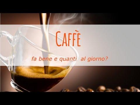 caffè fa bene o fa male? quanti consumarne al giorno?