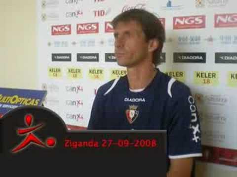 Entrevista a José Angel Ziganda (2008)