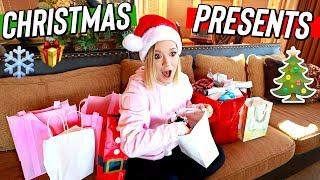 christmas present gift exchange! vlogmas day 10 by Alisha Marie Vlogs