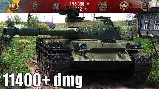 ОБЪЕКТ 140 ЛУЧШИЙ ДАМАГЕР НЕДЕЛИ 11400+ dmg 🌟🌟🌟 World of Tanks лучший бой