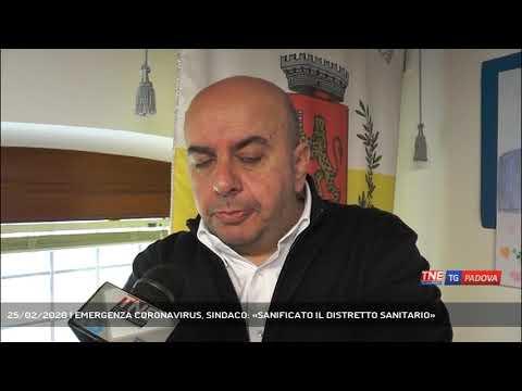 25/02/2020 | EMERGENZA CORONAVIRUS, SINDACO: «SANIFICATO IL DISTRETTO SANITARIO»