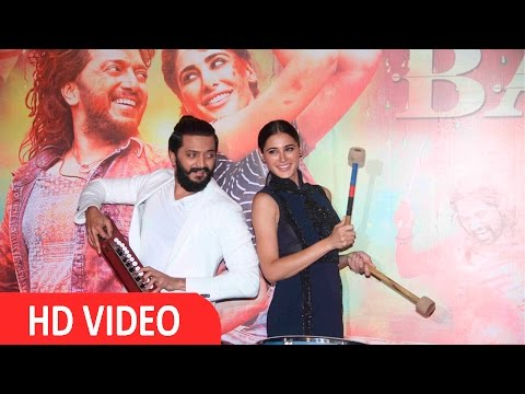 Trailer Launch Of Banjo With Riteish Deshmukh  & Nargis Fakhri