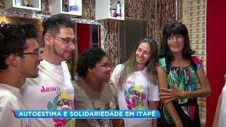 Moradoras de rua ganham dia de beleza em Itapetininga