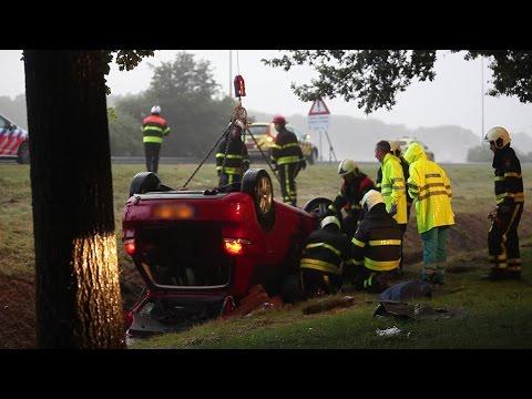 26-jarige Tilburger overleden tijdens noodweer op A58