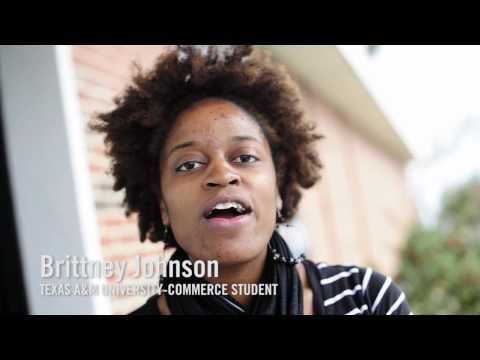 Brittney Johnson talks about her experience at Texas A&M University-Commerce