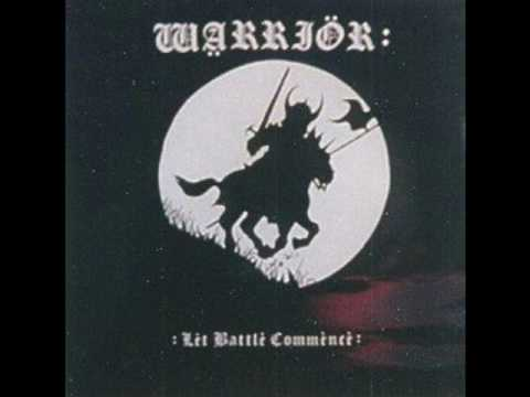 Warrior - Let Battle Commence - Ulster, Bloody Ulster online metal music video by WARRIOR (CHESTERFIELD)