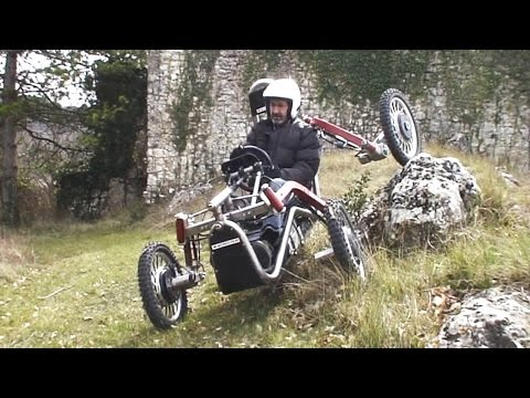 The Swincar Spider An Extremely Nimble OffRoad Electric