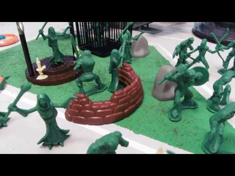 Mythical Warriors Army men bucket!
