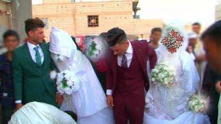 حفل زفاف الأخوين (مصطفى وكرار )شاهد العريس طاير من الفرح