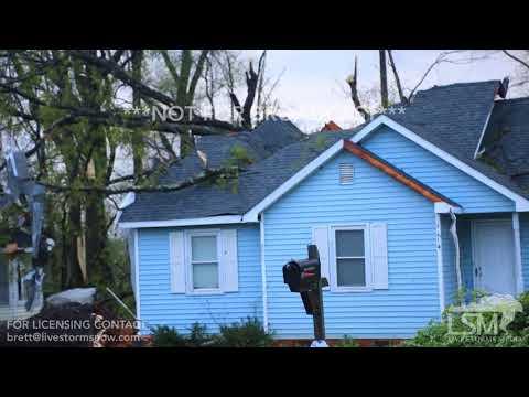 4-15-18 Greensboro, NC - Tornado Damage