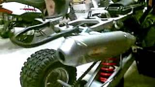 9. Atv Polaris Outlaw 525 S FMF Sound