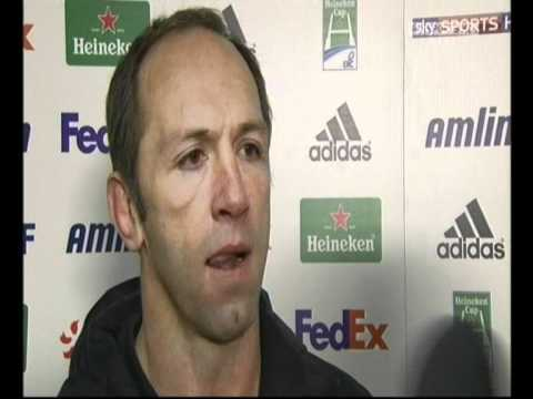 Greatest Baseball interview? What about the greatest rugby interview? You don't need to understand the sport to find this amusing...
