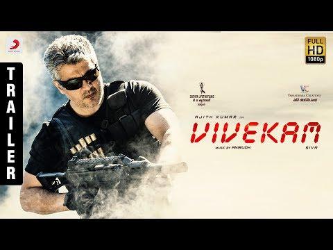 Vivekam Official Telugu Trailer Ajith Kumar Kajal Aggarwal