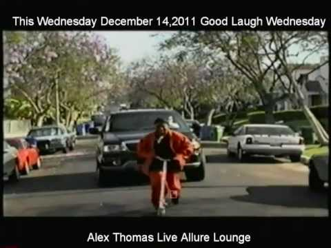 ALEX THOMAS AT GOOD LAUGH WEDNESDAY ALLLURE LOUNGE