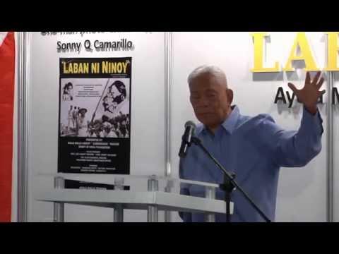 """""""LABAN ni NINOY"""" Photo Exhibit of Sonny Camarillo Opening Program Aug 25, 2013 PART 3"""