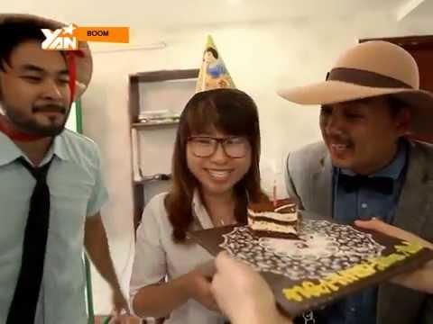 [Boom] Chúc mừng sinh nhật - Mời khách vào nhà