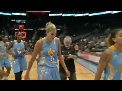 chicago - Elena Delle Donne had a spectacular game for the Chicago Sky, leading an incredible comeback win with 34 points on 11-19 shooting. Delle Donne caps off her amazing performance with a game-winning...