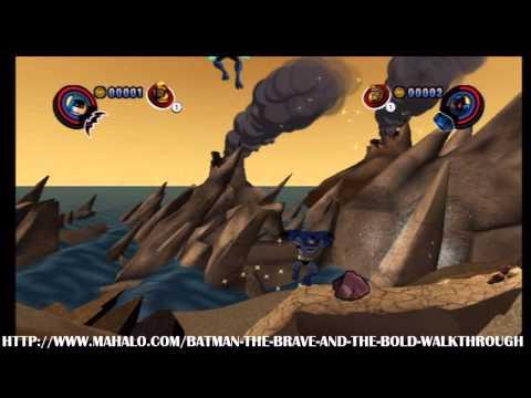 Batman: The Brave and the Bold Walkthrough - Episode 2: Monkey See, Robot Do! - Level 1