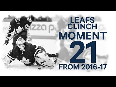 Video: NO. 21/100: Maple Leafs clinch a playoff spot in dramatic fashion
