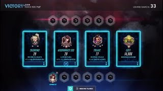 Game play D.va against 4 stack