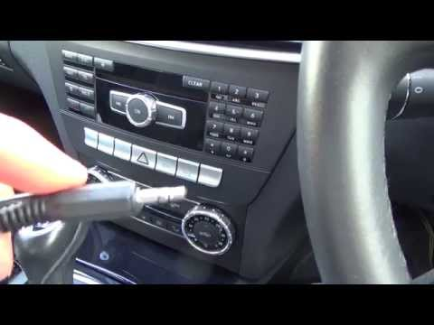 How To Connect An Apple IPod, IPhone To Your Aux Jack On A MERCEDES BENZ C CLASS