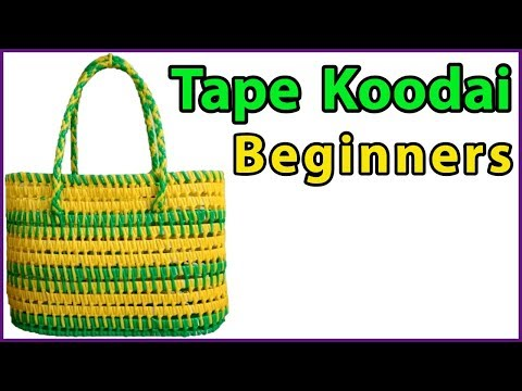Tamil-2 Roll Tape wire Koodai Full Tutorial for beginners   Plastic wire Koodai