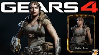 """Gears of War 4 Civilian Anya Gameplay Superstar Cole DLC Character!●Destiny 2 Beta Multiplayer Gameplay First Online Match: http://bit.ly/2uIm9e1●Gears of War 4 Savage Locust Drone Gameplay: http://bit.ly/2u85iyjWelcome back to another Gears of War 4 Video! Today's video we are going to be showcasing Gears of War 4 Civilian Anya Character Gameplay. Within Gears of War 4 Civilian Anya can only be obtained in the DLC Gears of War 4 Superstar Cole Packs. Overall the Gears of War 4 Superstar Cole Packs contain multiple Gears of War 4 Multiplayer Characters including Gears of War 4 Superstar Cole as well as Gears of War 4 Civilian Anya as seen in this video.SUBSCRIBE to stay up to date with the latest """"Gears of War 4 - Gears of War Ultimate Edition"""" (GOW) information!•Twitch: http://www.twitch.tv/sasxsh4dowz•Twitter: https://twitter.com/SASxSH4DOWZ•Facebook: https://www.facebook.com/SASxSH4DOWZ●Intro by Monsty - https://www.youtube.com/user/monstyARTSSubscribe for more videos! - Shadowz---Video upload by SASxSH4DOWZ (Shadowz Gears of War)Gears of War 4 © Microsoft Corporation. """"Gears of War 4 - """"Civilian Anya"""" Character Multiplayer Gameplay!"""" was created under Microsoft's """"Game Content Usage Rules"""" using assets from Gears of War 4 and it is not endorsed by or affiliated with Microsoft.Microsoft Content Usage Rules: http://www.xbox.com/en-US/developers/..."""