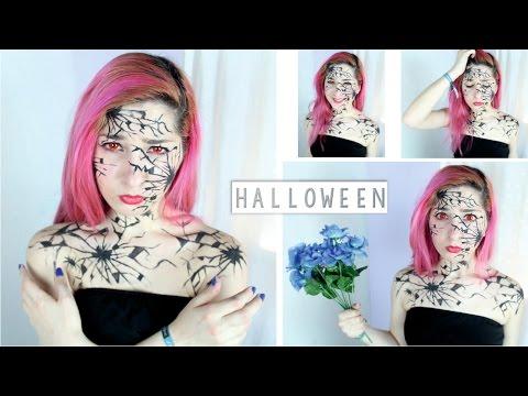 ann - Maquillaje de ultimo momento para Halloween, solo necesitas un delineador liquido :) ♥ Me ayudarías muchissimo compartiendo este video con tus amigos/as. Información sobre los SALUDOS:...