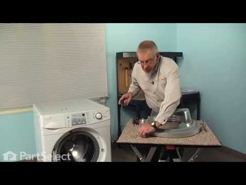 Washing Machine Repair – Replacing the Front Door Cover (Whirlpool Part # 34001424)