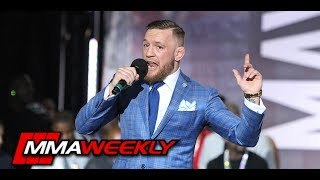 Video Conor McGregor's FULL Remarks at Mayweather vs. McGregor World Tour: Toronto MP3, 3GP, MP4, WEBM, AVI, FLV Oktober 2018