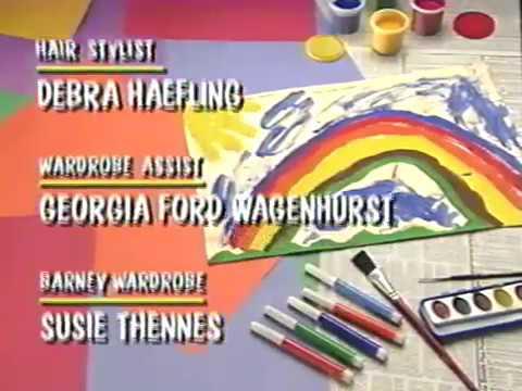 The Alphabet Zoo Credits (Season 2, Episode 16) (October 18, 1993)