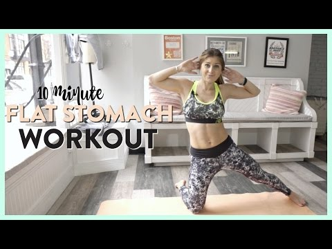 Flat Stomach Workout In 10 Minutes | FIT ABS