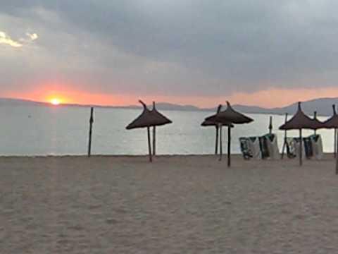 Mallorca zonsondergang