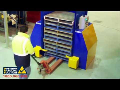 timum Pallet Dispensers cuts downtime in load out areas
