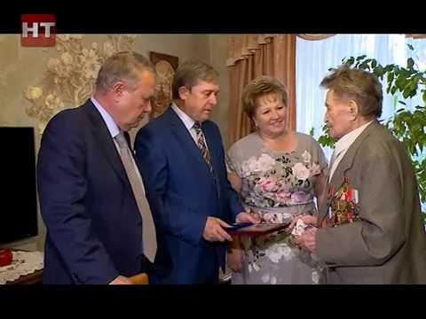 Ветеран войны Виктор Иванович Кулепётов в свой 90-летний юбилей награжден медалью «Новгородская Слава»