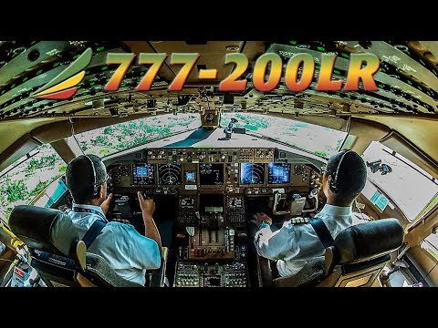 Piloting The Boeing 777-200lr Out Of Addis