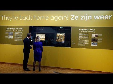 Στη θέση τους μετά από 14 χρόνια δύο κλεμμένοι πίνακες του Βαν Γκογκ