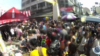 Songkran In Bangkok 2012 Khao San Water Fight Thailand