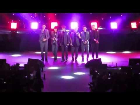 140503 EXO M - Talk @ Hollywood Bowl (12th Korean Music Festival)