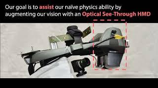ボールの動き、未来予測−慶大がAR型HMD表示システム(動画あり)