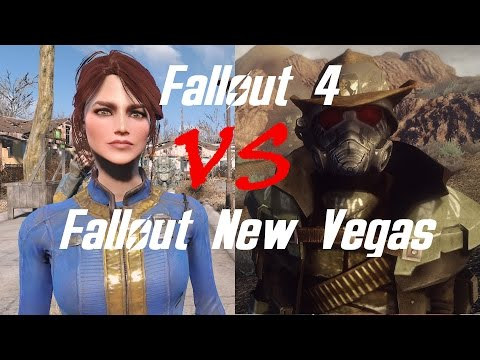 What makes Fallout New Vegas better than Fallout 4?