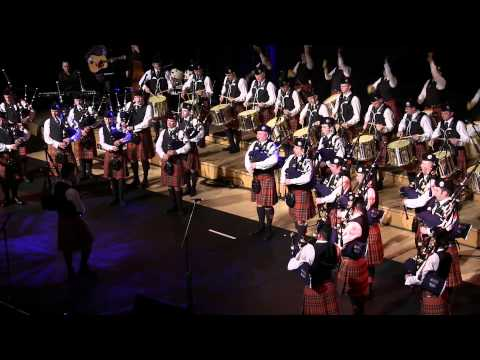 Glasgow 2013 - Strathclyde Police Pipe Band - Final Concert