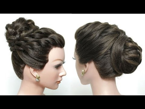 Hairstyles for long hair - 2 Latest Party Hairstyles For Girls. Updos For Long Hair Tutorial