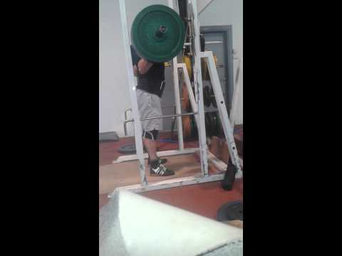 Johnny Davidz - 10@160 kg - Squat