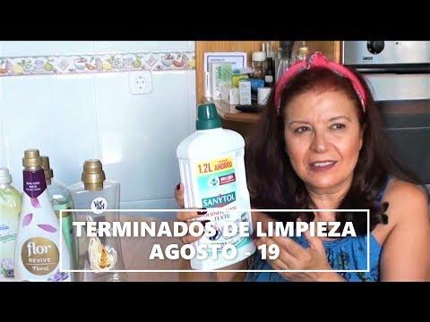 Videos caseros - Terminados de LIMPIEZA - AGOSTO 2019 -  El mundo de Gracia