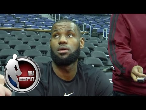Video: LeBron James talks being an inspiration to younger NBA players | NBA on ESPN