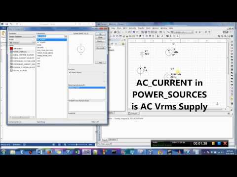 AC & DC Power Supplies in Multisim